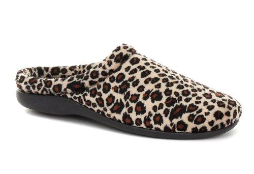 Cheap Dunlop Carmen Leopard Womens Slipper Mules (B005PN7Q18)