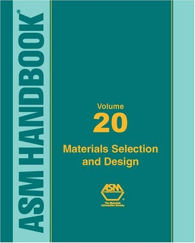 ASM Handbook: Materials Selection and Design, Volume XX