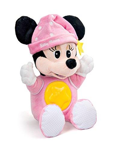 Clementoni - Peluche della buonanotte Disney Baby di Minnie