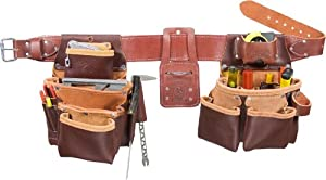 Occidental Leather 5089 XL Seven Bag Framer Tool Belt, X-Large