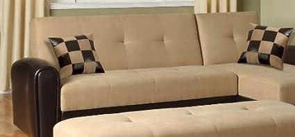Lakeland Reversible Adjustable Sofa by Acme Furniture
