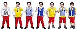 Bad Boys Colourful Combo - Pack of 4
