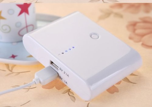 Itek Power Bank 10000 MAH-White