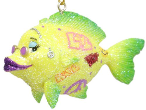 Tropical Fish Christmas Ornament - December Diamonds -