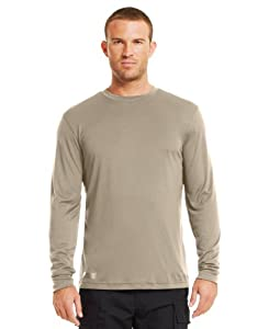 Under Armour Mens HeatGear® Tactical Long Sleeve T-Shirt by Under Armour