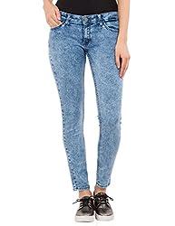 Tokyo Talkies Women's Skinny Pants (TTJN000790_INDIGO_30)