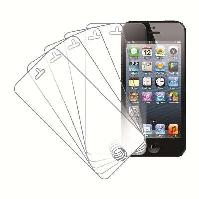 MPERO® 5 Pack of Screen Protectors for New Apple