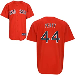 Buy Jake Peavy Boston Red Sox Replica Red Alternate Jersey by Majestic Select Size: Small