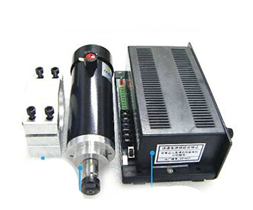 450w High Speed Air Cooled Spindle Cnc Spindle Motor Kits