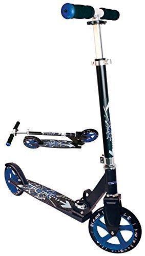 166 Alu Scooter Muuwmi STB 205er schwarz/blau