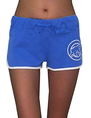 Pink Victoria's Secret Womens MLB Chicago Cubs Sports Shorts