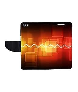 KolorEdge Printed Flip Cover For Huawei Honor 6 - Multicolor(50KeMLogo8216Honor6)