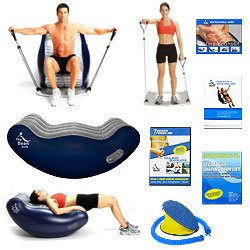 New Trademark The Bean Elite And Flex 10 The Ultimate Exerciser Work Your Body At Home With No Pain