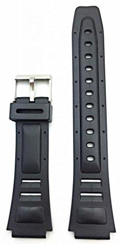 17Mm Black Watch Band
