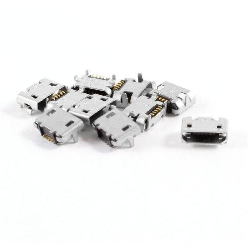 cellulare-tipo-b-micro-usb-femmina-porta-connettore-jack-di-ricarica-spinotto-10-pz