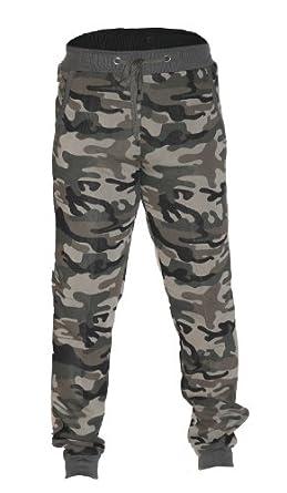 "Waooh - Mode - Pantalon de jogging motif camouflage ""Zatlan"" - Vert - Taille S"