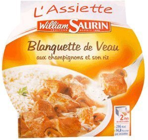 William Saurin Veal Stew Plate - 10.58 oz - 1 serving just william