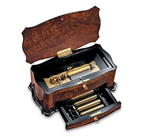 Reuge Music Box Company Masterpiece 72 Note Interchangeable 5 Movement, 15 Tune Crescendo / Dolce Vi