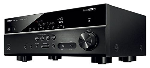 Yamaha MusicCast RX-V581 Sintoamplificatore AV 7.1, Nero