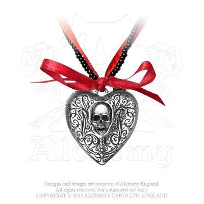 Alchemy Gothic Il Cuore Reliquiario Locket
