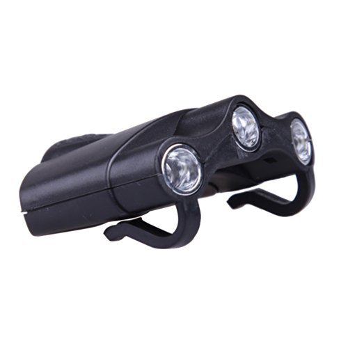 Vktech Led Clip Cap Light Hat Lamp Ultra Light Weight Two Modes For Mechanical