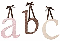 Alphabet Abc\'S Baby Girls Nursery Wall Hanging Wall Decor