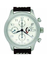Zeno New Pilot Classic Tri-Compax Classic Chronograph Ref. 9553 TVD PR-CW