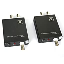 ELP Cctv Camera 2ch Coaxial Cable Video Signal Multiplexer Adder , Video Converter/ Transmission Immunity with Signal Transmission Distance up to 600m