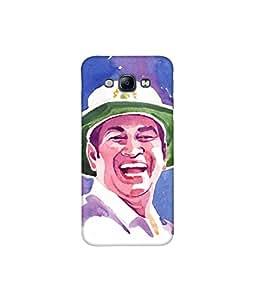 Kolor Edge Printed Back Cover For Samsung Galaxy A8 - Multicolor (4391-Ke10258SamA8Sub)
