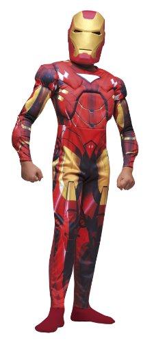 Muskulöser Iron Man 2®-Kostüm für Jungen - 5 bis 7 Jahre