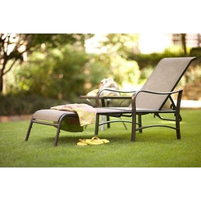 Martha Stewart Living Grand Bank Multi Position Adjustable Patio Chaise Lounge Outdoor Furniture