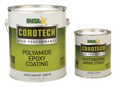 Insl X Products V400 5354 2K Corotech Poly Amide Epoxy Coating Gloss Pearl Gray