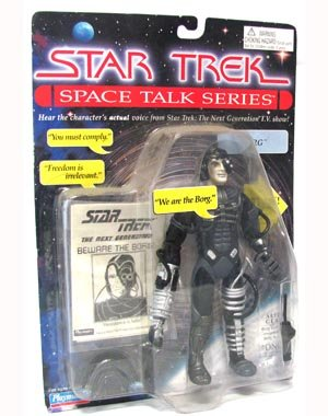 "7"" ""Borg"" Action Figure - Star Trek Space Talk Series - Hear the Character's Actual Voice"