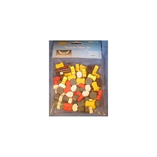 Siedler von Catan – Holz Spielsteine (95 Stück)