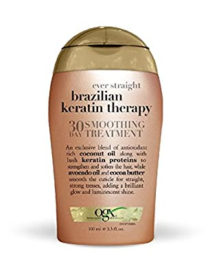 OGX 30 Day Smoothing Treatment, Ever Straight Brazilian Keratin Therapy