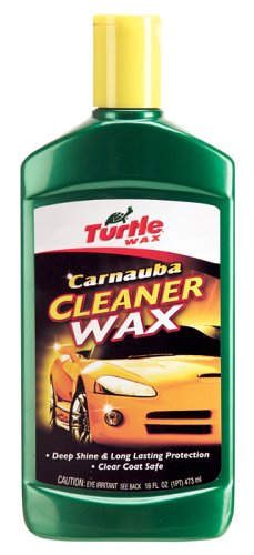 Turtle Wax T-6A Carnauba Car Liquid Wax - 16 oz.