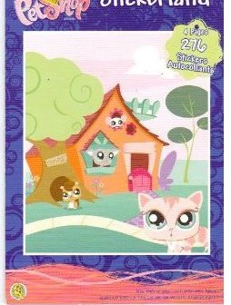 Littlest Pet Shop Stickerland - 276 Stickers