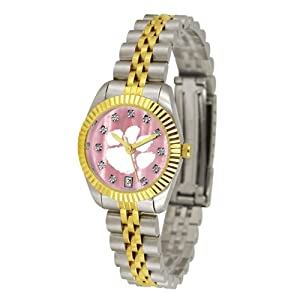 Clemson Tigers Executive Ladies Watch with Mother of Pearl Dial by SunTime