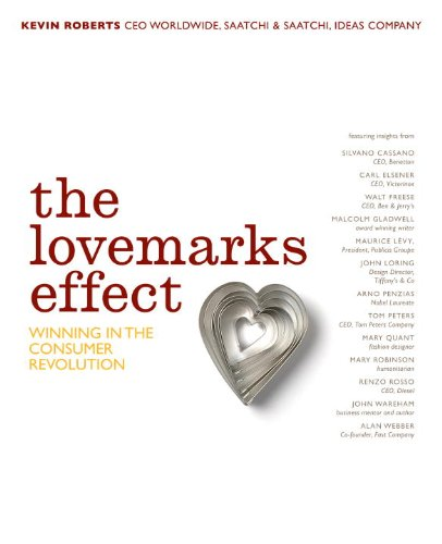 The Lovemarks Effect /Anglais: Mystery, Sensuality and Intimacy at Work