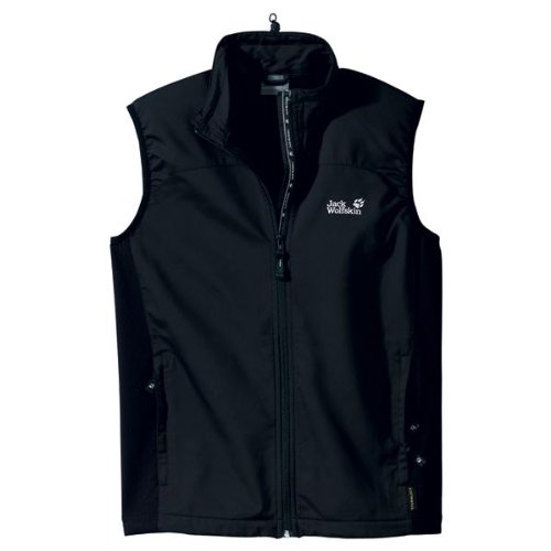 Jack Wolfskin ACTIVATE VEST MEN black