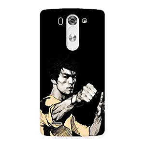 Gorgeous Bruce Punch Back Case Cover for LG G3 Mini