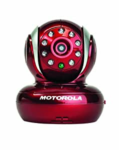 Motorola Blink1 Wi-Fi Video Camera for Remote Viewing with iPhone and Android Smartphones and Tablets, Red (Discontinued by Manufacturer)