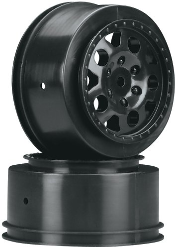 Team Associated 9808 SC10 KMC Rear Wheel, Black