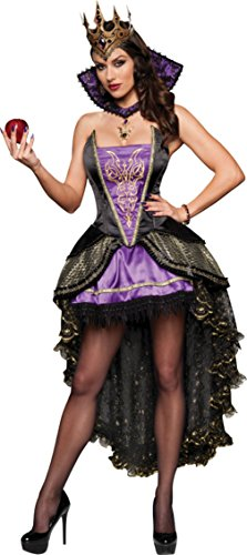 Incharacter Womens Renaissance Snow White Evil Queen Theme Party Fancy Costume