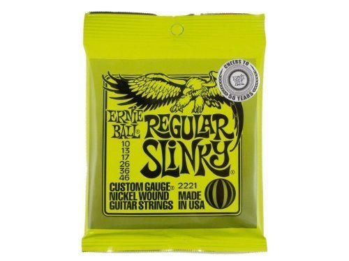 ernie ball 2221 nickel regular slinky electric guitar strings 3 pack from ernie ball at the. Black Bedroom Furniture Sets. Home Design Ideas