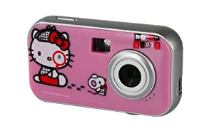 Hello kitty digital camera kit with changing face plates, #94009 - 1 ea