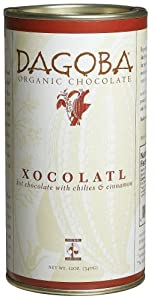 Dagoba Xocolatl Hot Chocolate Fair Trade Certified 12-ounce Canisters Pack Of 3 by Dagoba