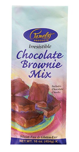 Pamela's Wheat Free, Gluten Free Ultra Chocolate Brownie Mix, 16-Ounce Packages (Pack of 6)