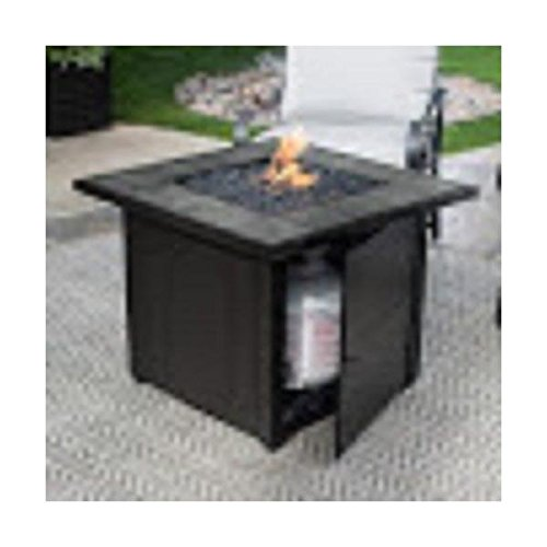 Endless-Summer-GAD1399SP-LP-Gas-Outdoor-Fire-Bowl-with-Slate-Tile-Mantel