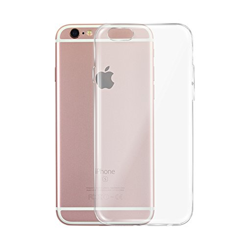 Tenmangu iPhone 6/6S Case, Soft TPU Transparent Case Cover for iPhone 6/6S (Clear)